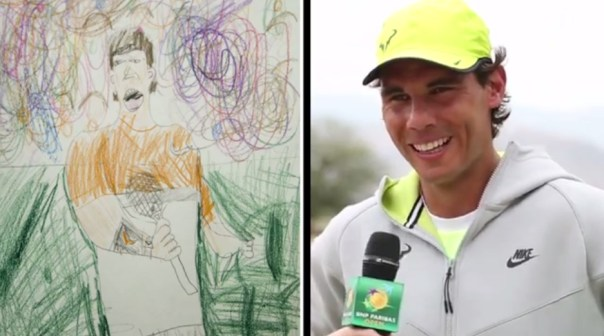 I think I am a little bit more beautiful says Rafael Nadal
