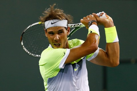 Rafael Nadal Beats Igor Sijsling In Indian Wells Opener (10)