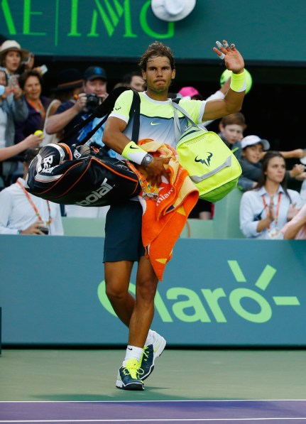 Rafael Nadal loses in third round of Miami Open