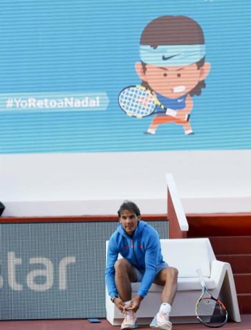 Rafael Nadal participates in Movistar event in Madrid 2015 (5)