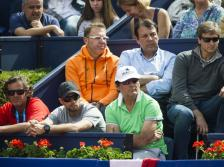 Team Rafael Nadal at Barcelona Open 2015