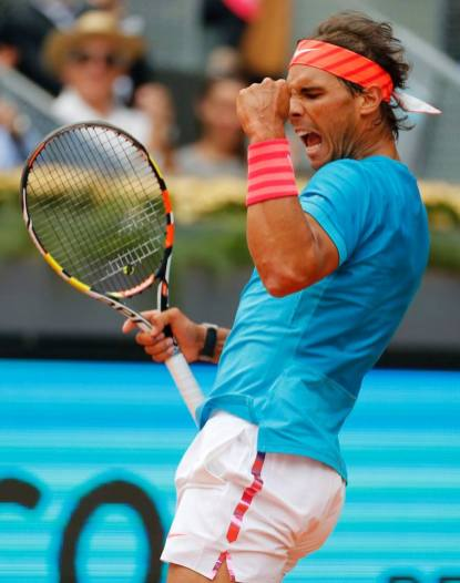 Rafael Nadal beat Steve Johnson 6-4 6-3 at Madrid Open (1)