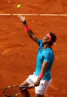 Rafael Nadal beat Steve Johnson 6-4 6-3 at Madrid Open (4)