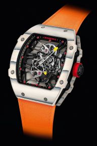 Rafael Nadal new watch Richard Mille Tourbillon RM 27-02 Rafa Nadal