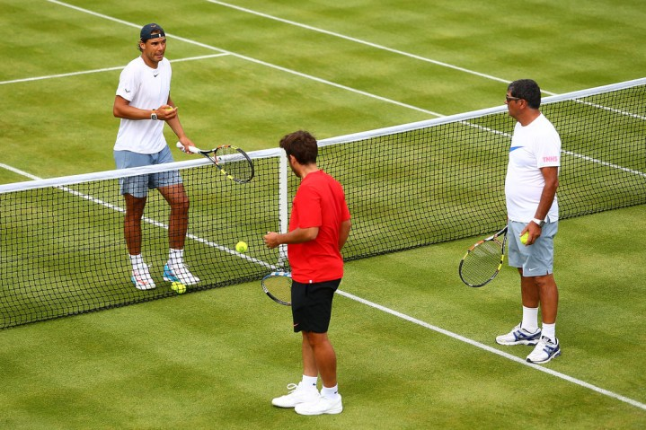 Tennis - Aegon Championships - Queens Club, London - 17/6/15Spain's Rafael Nadal during a practice sessionAction Images via Reuters / Tony O'BrienLivepic