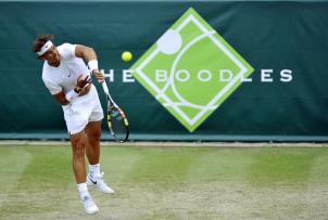 Tennis - Boodles Tennis Challenge - Stoke Park, Buckinghamshire - 26/6/15 Spain's Rafael Nadal in action Action Images via Reuters / Adam Holt Livepic