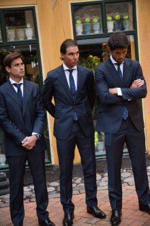Rafael Nadal Poses Before Davis Cup Dinner (16)
