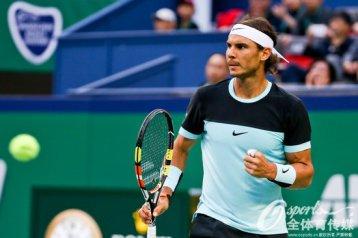 Rafael Nadal in action against Jo-Wilfried Tsonga in Shanghai Masters (10)