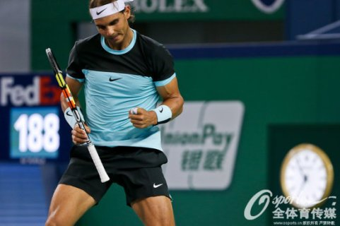 Rafael Nadal into Shanghai Masters quarter finals after beating Milos Raonic (4)