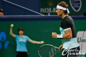 Rafael Nadal into Shanghai Masters quarter finals after beating Milos Raonic (6)