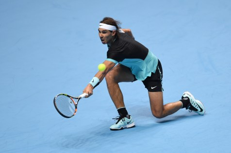 Tennis - Barclays ATP World Tour Finals - O2 Arena, London - 18/11/15 Men's Singles - Rafael Nadal of Spain in action against Andy Murray of Great Britain Action Images via Reuters / Tony O'Brien Livepic EDITORIAL USE ONLY.