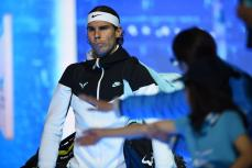 Tennis - Barclays ATP World Tour Finals - O2 Arena, London - 16/11/15 Men's Singles - Spain's Rafael Nadal walks out to play Switzerland's Stan Wawrinka Action Images via Reuters / Tony O'Brien Livepic EDITORIAL USE ONLY.