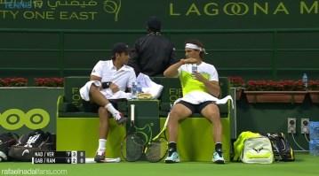 Rafael Nadal loses doubles opener with Fernando Verdasco in Doha Qatar (6)