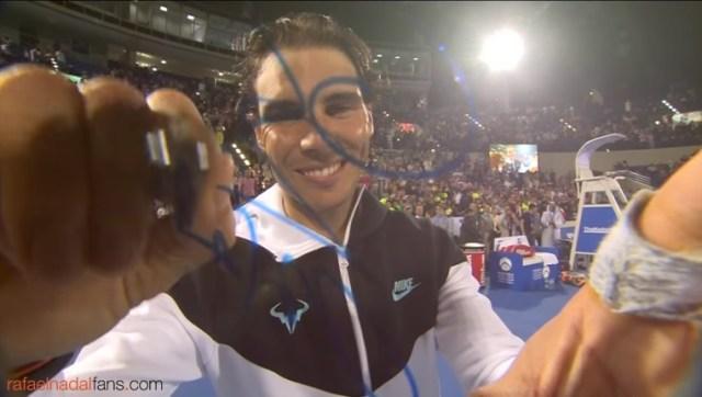 Rafael Nadal won the Mubadala World Tennis Championship exhibition 2016