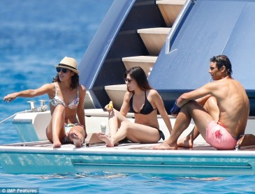 Rafael Nadal and his girlfriend Maria Francisca Perello on yacht in Ibiza (6)
