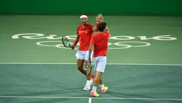 Marc Lopez and Rafael Nadal reach quarters in Olympic doubles