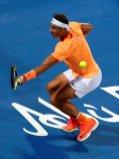Tennis - Mubadala World Tennis Championship - Rafael Nadal of Spain v Tomas Berdych of Czech Republic- Abu Dhabi, UAE - 29/12/16 Rafael Nadal of Spain. REUTERS/Ahmed Jadallah