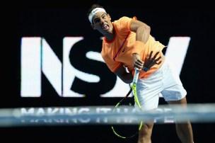 rafael-nadal-during-a-fast4-tennis-tournament-against-nick-kyrgios-in-sydney-2017-australia-1
