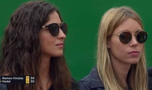 Rafael Nadal girlfriend Maria Francisca Perello and sister Maria Isabel in Monte Carlo 2017
