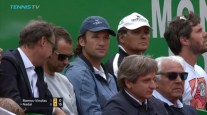 Rafael Nadal team in Monte Carlo coaches Carlos Moya uncle Toni agent Costa manager Benito dad Sebastian