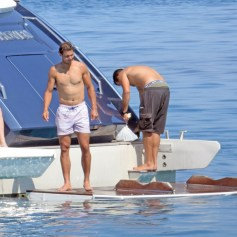 Rafael Nadal short holiday on yacht in Spain (7)