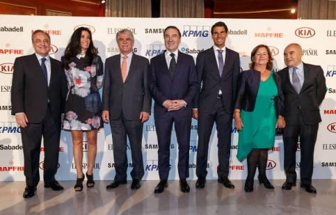 Rafael Nadal awarded at Premio Los Leones 2017 El Espanol (2)