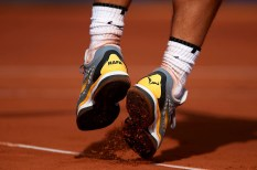 BARCELONA, SPAIN - APRIL 26: Rafael Nadal of Spain is seen during his match against Guillermo Garcia-Lopez of Spain during day fourth of the ATP Barcelona Open Banc Sabadell at the Real Club de Tenis Barcelona on April 26, 2018 in Barcelona, Spain. (Photo by Quality Sport Images/Getty Images)