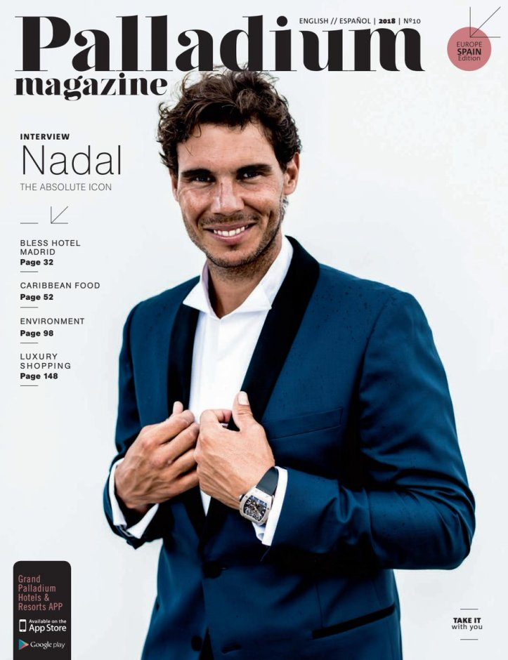 Interview With Rafael Nadal I Do Have Some Obsessions Which I M Not About To Share Rafael Nadal Fans