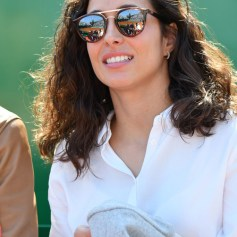 Maria Francisca Perello, la fiancée de Rafael Nadal, durant la rencontre Rafael Nadal contre Roberto Bautista Agut sur le court Rainier III durant le Rolex Monte Carlo Masters 2019 ŕ Roquebrune Cap Martin, le 17 avril 2019. Rafael Nadal s'est qualifié en battant son compatriote 6-1 / 6-1. © Bruno Bebert / Bestimage Nadal vs Agut (6-1 / 6-1)during Monte Carlo Rolex Masters 2019 at Roquebrune Cap Martin on april 17th 209, Image: 426570064, License: Rights-managed, Restrictions: , Model Release: no, Credit line: Profimedia, Bestimages