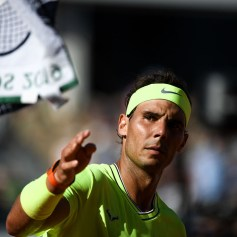 Rafael Nadal (SPA) during the day 6 of the French Open on May 31, 2019 in Paris, France. (Photo by Anthony Dibon/Icon Sport via Getty Images)