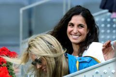 GRAF7294. MADRID, 09/05/2019.- Xisca Perelló, pareja del tenista Rafa Nadal, durante el partido de tercera ronda que disputa el mallorquín contra el estadounidense Frances Tiafoe, en el Mutua Open de Madrid 2019, que se celebra en la Caja Mágica. EFE/Kiko Huesca