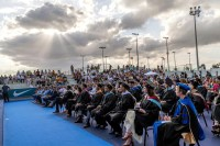 A view of the graduation ceremony of Rafa Nadal Academy, students of American International School of Mallorca, in Manacor, Balearic Islands, Spain, 11 June 2019. EPA-EFE/, Image: 446213316, License: Rights-managed, Restrictions: , Model Release: no, Credit line: Profimedia, TEMP EPA