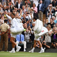 . The Championships 2019. Held at The All England Lawn Tennis Club, Wimbledon. {year4}{month0}{day0}. Credit: AELTC/Joel Marklund