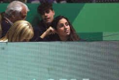 Rafael Nadal wife maria Francisca Perello 2019 Davis Cup semifinals in Madrid photo