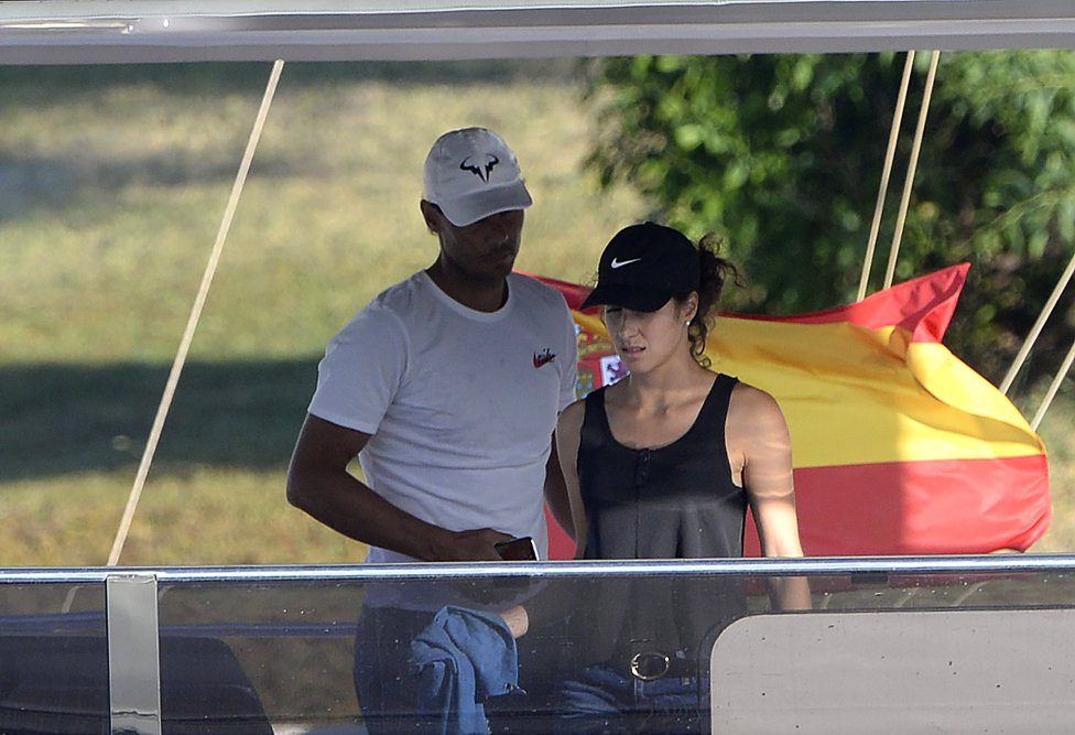 Photos Rafael Nadal Takes His New Catamaran Yacht Out For A Day Trip In Mallorca Rafael Nadal Fans