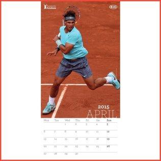 Rafael Nadal 2015 calendar (2)