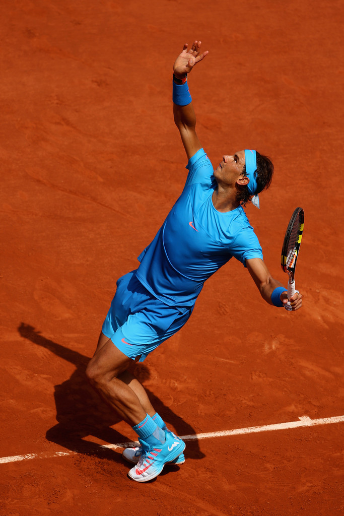 french open rafael nadal starts title defence with win. Black Bedroom Furniture Sets. Home Design Ideas