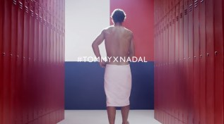 Rafael Nadal Strips Down to His Underwear in New 'Tommy Hilfiger' Ads