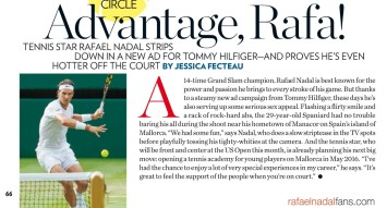 Rafael Nadal in People Magazine 2015 (1)