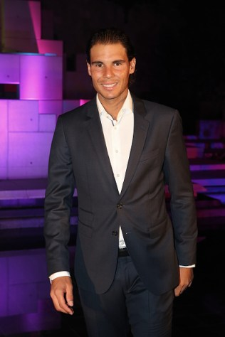 arrives at the 2015 China Open Player Party at The Birds Nest on October 5, 2015 in Beijing, China.