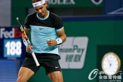 Rafael Nadal into Shanghai Masters quarter finals after beating Milos Raonic (4)