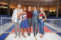 STUTTGART, GERMANY - NOVEMBER 10: Janis Danner, Sara Nuru, Alena Gerber, Rafael Nadal and Stefanie Giesinger attend the Tommy Hilfiger X Rafael Nadal @ Breuninger on November 10, 2015 in Stuttgart, Germany. (Photo by Franziska Krug/Getty Images for Tommy Hilfiger)