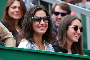 MONTE-CARLO, MONACO - APRIL 17: Maria Francisca Perello aka Xisca Perello, girlfriend of Rafael Nadal of Spain attends the final of the 2016 Monte-Carlo Rolex Masters at Monte-Carlo Country Club on April 17, 2016 in Monte-Carlo, Monaco. (Photo by Jean Catuffe/Getty Images)