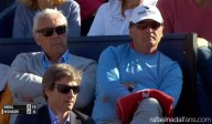 Uncle Toni Nadal watching Rafa's match at Barcelona Open 2016 final