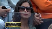 Rafael Nadal girlfriend Maria Francisca Perello at Rome Masters QF 2016