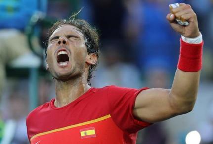 Rafael Nadal beats Thomaz Bellucci to reach Olympic semis (2)