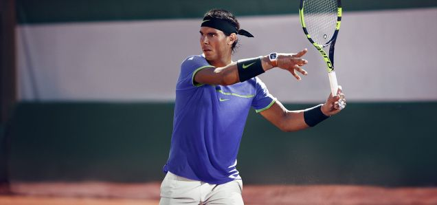 Rafael Nadal Roland Garros 2017 Nike Outfit French Open Kit