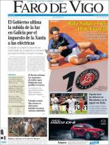 Newspaper front pages cover Rafael Nadal victory at Roland Garros 2017 front page (2)