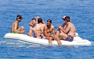 Rafael Nadal short holiday on yacht in Spain (11)