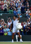 Rafael Nadal of Spain acknowledges the crowd as he looks dejected in defeat after the Gentlemen's Singles fourth round match against Gilles Muller of Luxembourg on day seven of the Wimbledon Lawn Tennis Championships at the All England Lawn Tennis and Croquet Club on July 10, 2017 in London, England. (July 9, 2017 - Source: Michael Steele/Getty Images Europe)